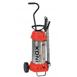 MESTO Pulvérisateur haute pression INOX PLUS, avec chariot de transport 10 L - 6 bar - inoxydablePulvérisateurs
