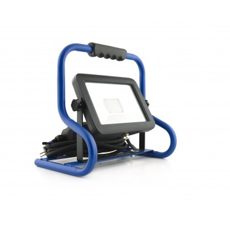 LUMX LED spotlight N-50: 50 Watt on foot - 3 m. H07RN-F - IP54 - 4000K Projectors and work lamps