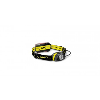 LUMX LED lampe frontale TCT-250S - 250lm - SENSOR - IPX4 (incl 3 x AAA Duracell)Lampes Frontales