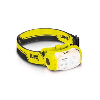 LUMX LED lampe frontale HL-180 - 180lm - IPX4 (incl 3 x AAA Duracell) Lampes Frontales