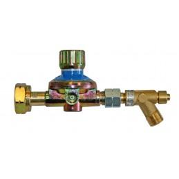 CFH Pressure regulator adjustable pressure 1 - 4 bar Home