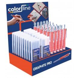 COLOR LINE GRAPHITE PRO Dieptemarker SET 30 st. + 2x10 vervangstiftenMarkers