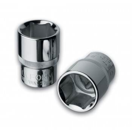 "CETAFORM 1-2 Cap 6-side - 17 mm - on card Sockets 1/2"""