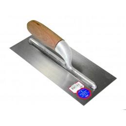 SCHWAN Adhesive trowel 280 x 130 x 0.7 mm with wooden handle - steel Home
