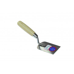 SCHWAN Plaster additive short model 110 x 80 x 1.0 mm - Inox Stainless steel trowels