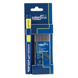 COLOR LINE GRAPHITE DRY 1 x Dieptemarker + 10 vervangstiften grafiet op kaartMarkers