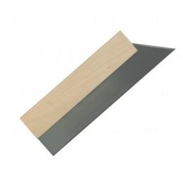 SCHWAN Gypsum knife 500 mm - 1.2 mm, wooden handle - steel Painter's Knives