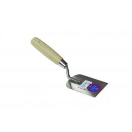 SCHWAN Spatule de plâtrier Inox modèle court et large 95 x 60 x 1,0mm - InoxTruelles inoxydables