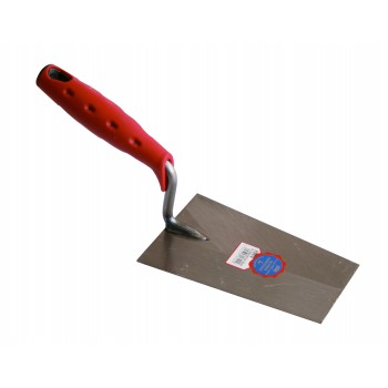 SCHWAN Mason's Wheel LUX. SOFT GRIP (PRO) 200 x 115-85 x 1.2 m rectangular Soft grip trowels
