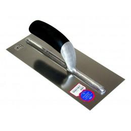 SCHWAN Adhesive trowel 270 x 115 x 0.7 mm with plastic handle black - stainless steel Home