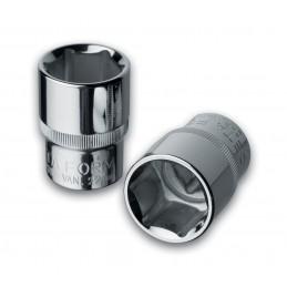 "CETAFORM 1-2 Cap 6-side - 18 mm - on card Sockets 1/2"""