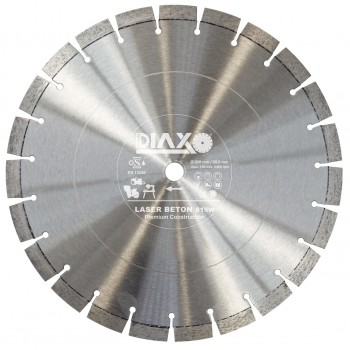 PRODIAXO Diamond disc WASER BETON S15W - 300 x 20.0 mm - PREMIUM Construction Diamond tools and accessories