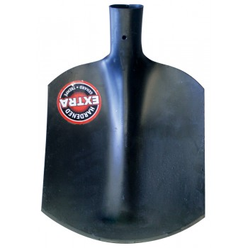 SOLID Sand shovel extra hardened (oil-hardened) - N° 00 - without handle Home