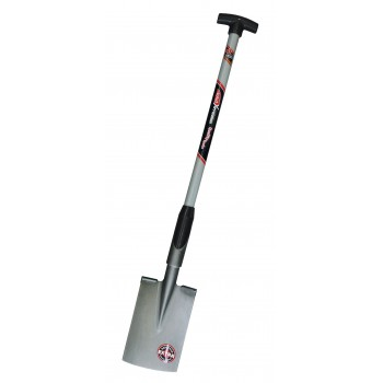 "SOLID Spade double edging - Model """"Brabant"""" - with T-glass fibre handle TYPE """"F8100"""""" Home"