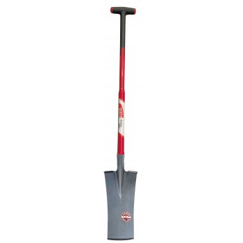 "SOLID Groundworkers' path with curved cut - with T-glass fibre handle TYPE """"F5500"""""" Home"