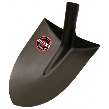SOLID Sand shovel model Luxembourg with border - extra hardened - 270 mm - without handle Home