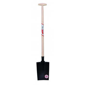 SOLID Garden spade model SENLIS with reinforced border - with wooden T-steel Home