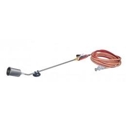 MAGMA Turbo roofing burner BI-SOFT, TITANIUM-SET diam. 60 + 10 m hose & pressure regulator 4 bar Soldering lamps