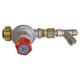 MAGMA Pressure regulator with adjustable pressure, with hose rupture valve - 1-4 bar Home