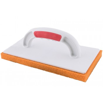 PINGUIN Chip with orange sponge rubber FINE TEXTURE + SOFT GRIP , 280 x 140 mm Plasterboards and sanding boards