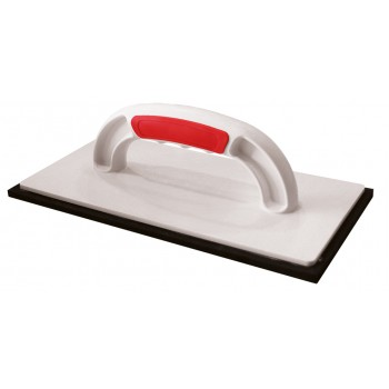 PINGUIN Synthetic trowel 280 x 140 x 8 mm SOFT GRIP with black rubber Plasterboards and sanding boards