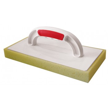 PINGUIN Plastic trowel SOFT-GRIP 280 x 140 x 30 with thick hydro sponge Plasterboards and sanding boards