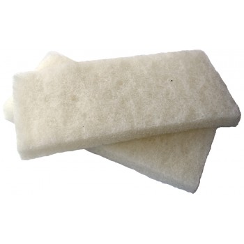 PINGUIN Replacement foam sponge white, fine 250 x 120 mm - price per 2 pcs Plasterboards and sanding boards