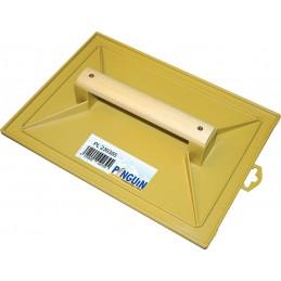PINGUIN Taloche ABS jaune 350 x 260mm, manche boisPlâtoirs et taloches