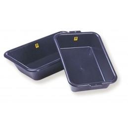 MONDELIN Mortar container rectangular - PE 25 L - black Home