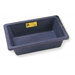 MONDELIN Mortar container rectangular rubber PROCHOK 12 L - black Home