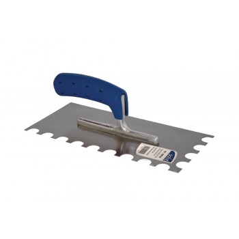 SOLID Toothed trowel 280x 130 - N°30 SOFT GRIP - steel Home