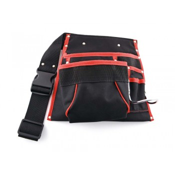 SOLID Nail and tool bag with hammer carrier - fixed bracket Home