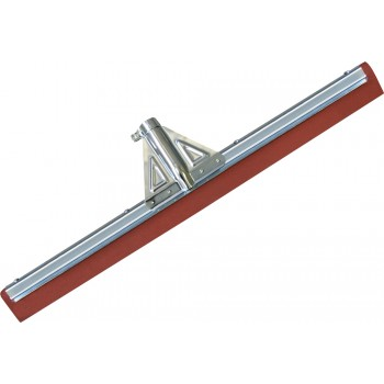 BATI-CLEAN Floor wiper acid and oil resistant red rubber - 75 cm Squeegees