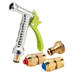 AQUA TECH Set de raccord pour tuyau d'arrosage - laitonAccessoires pour l'arrosage