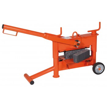 EMG Stone cutter 330 mm - capacity 10-120 mm Various cutting tools