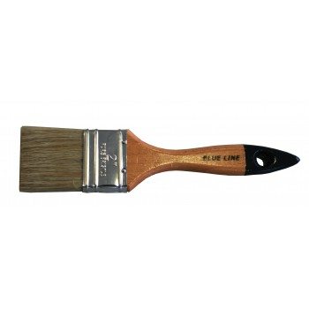 COLOR LINE Flat paint brush 2 1-2, white bristle Flat brushes