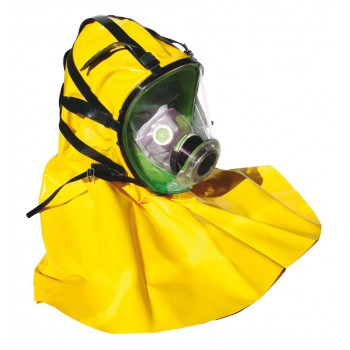 BLS Full face mask Securx-BLS 5400-C , Silicon rubber with KAP, DIN filters Respiratory protection