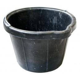 MONDELIN Bucket rubber black with moulding jaw - heavy duty version 12 L Home