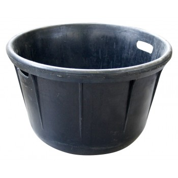 SOLID vulcanised rubber tub - 45 L Buckets and tubs