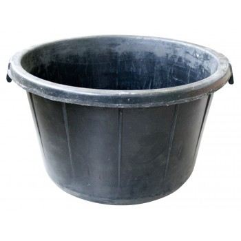 SOLID Vulcanized rubber tub - 85 L Home