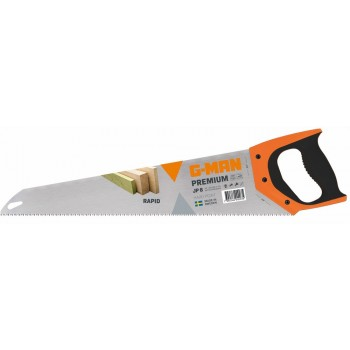 G-MAN PREMIUM 229H RAPID hand saw fine perforation, 11 TPI - 500 mm (EX IR 10505556) Specific Saws