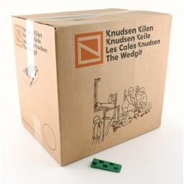 KNUDSEN Angled keys 10 x 30 x 80 mm - per 1000 pcs - green Home