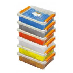 KNUDSEN Filling plates 54 x 46 x 2 mm - per 500 pcs - black Adjustment blocks