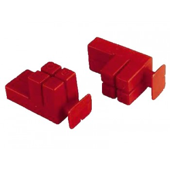 ITI Cable tensioners for bricks, red per pair Home