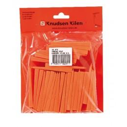 KNUDSEN Angled keys 8 x 40 x 80 mm - per 30 pcs - orange Home