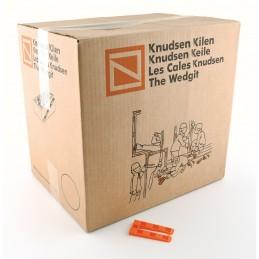 KNUDSEN Angled keys 8 x 40 x 80 mm - per 1000 pcs - orange Adjustment blocks