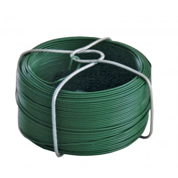 SOLID Tie thread green plastic coated - Ø 1,5 mm x 50 m Home