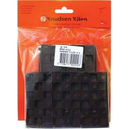KNUDSEN Angled keys 15 x 45 x 90 mm - per 16 pcs - brown Home