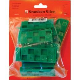 KNUDSEN Angled keys 10 x 30 x 80 mm - per 30 pcs - green Home