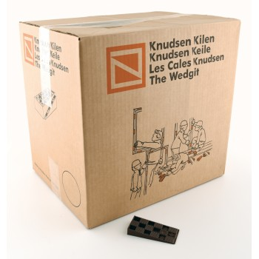 KNUDSEN Angled keys 15 x 45 x 90 mm - per 500 pcs - brown Adjustment blocks